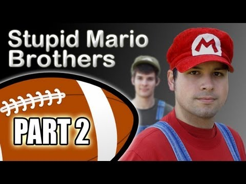 Stupid Mario Brothers Football - Part 2 of 4