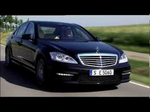 Mercedes S63 AMG 2011 5.5L V8 Driving Footage