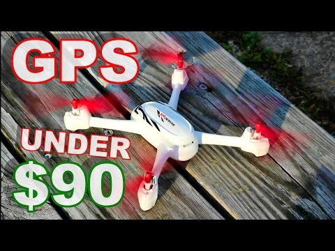 World's Cheapest GPS Camera Drone - Hubsan 502E X4 Desire Flight Review - TheRcSaylors - UCYWhRC3xtD_acDIZdr53huA