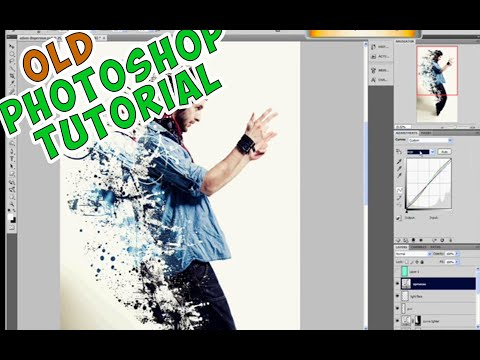 Photoshop tutorial on dispersion effect