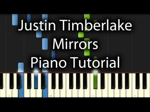 Justin Timberlake - Mirrors Tutorial (How To Play On The Piano)