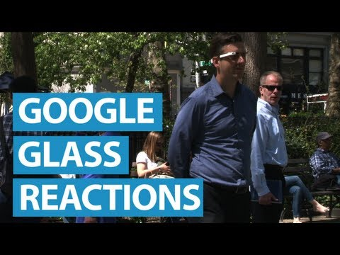 New Yorkers React to Google Glass
