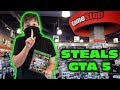 Kid Temper Tantrum Returns To Gamestop To STEAL GTA 5