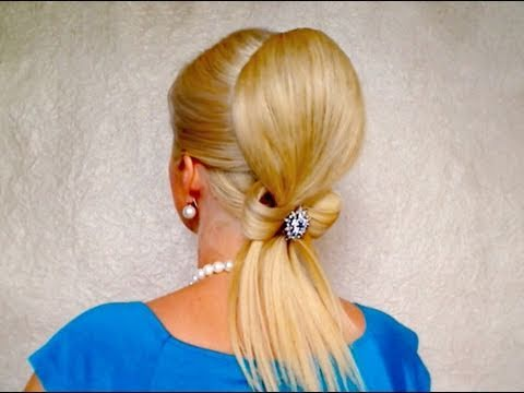 Elegant prom updo hairstyles for long hair with extensions Beautiful wedding hairdos medium hair bow
