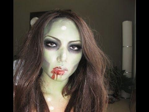 Kako se maskirati u zombija?
