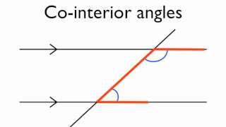 Ordinaire Angles In Parallel Lines  Co Interior Angles   YouTube