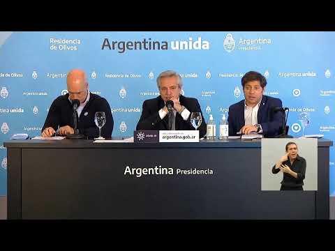 Fernández anuncia cómo será la nueva etapa de la cuarentena