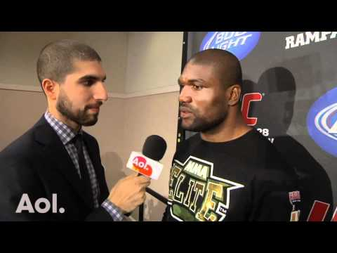UFC 130: Rampage Jackson Almost 'Squashes Beef' Following UFC 130 Victory