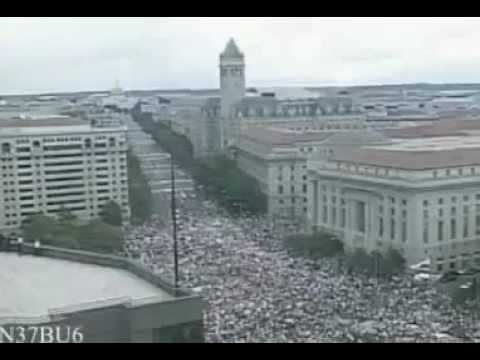9/12 Protesters Washington, D.C. Time Lapse Footage