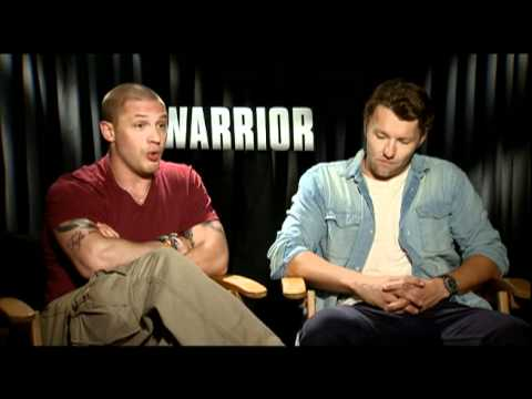 Tom Hardy, Joel Edgerton and Nick Nolte Interview for WARRIOR
