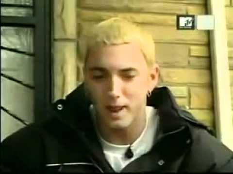 Eminem Acting Like A Fool on MTV