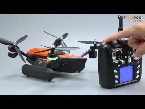 WLtoys Q353 Aeroamphibious Air Land Sea Mode 3 in 1 Headless Mode 2.4G RC Quadcopter RTF - UC43W_k7OrH_5OxBgIibLCCQ