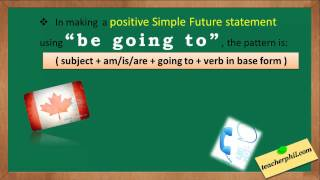 Simple Future Tense, will wont video lesson