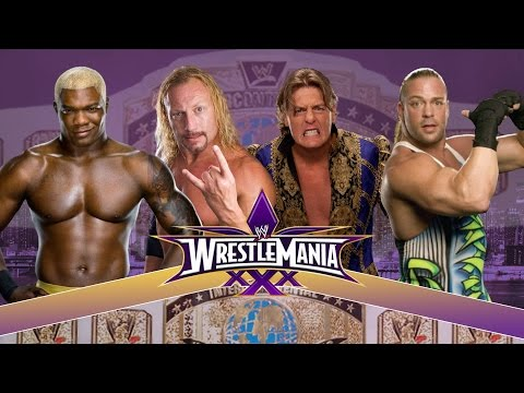 Wrestlemania XXX: William Regal vs. Rob Van Dam vs. Shelton Benjamin vs. Jerry Lynn