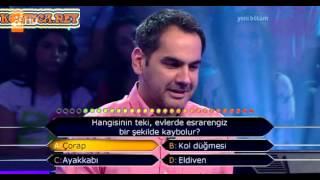 Kim milyoner olmak ister 230. bölüm 4. yarışmacı 03.06.2013