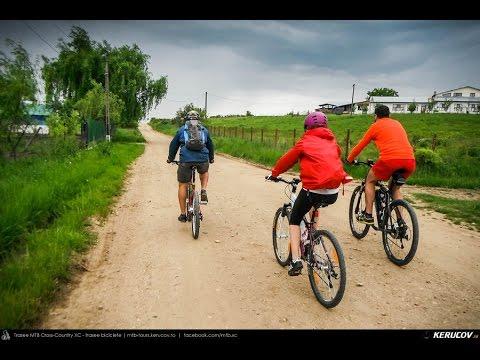 VIDEOCLIP Traseu cu bicicleta MTB XC Gaesti - Slobozia - Glavacioc - Negrasi - Mozacu - Rascaeti - Gaesti