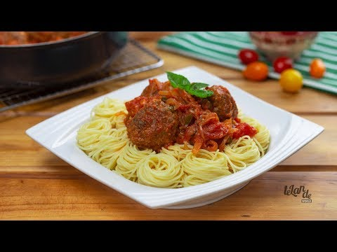 How To Prepare Meat Balls In Tomato Sauce