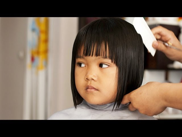 Short Hair Bobs for Kids | Short Hair Tutorial