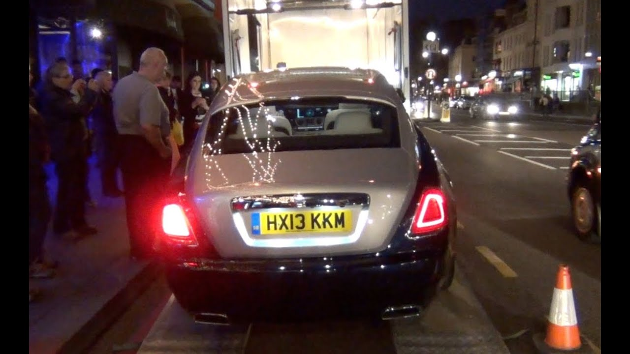 EXCLUSIVE 2014 Rolls Royce Wraith FIRST Time in London!!!