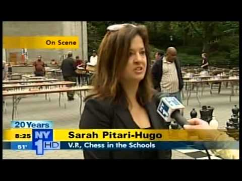 Chess in the Parks - NY1 News Live Remote
