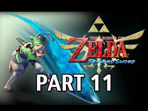 Legend of Zelda Skyward Sword - Walkthrough Part 11 Skyview Temple Let's Play HD