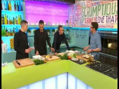 Hurts : Sunday Brunch - 21st April 2013 ( Part 1 of 2 )