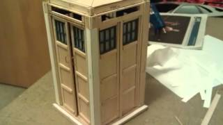 Tardis Jewelry Box Blueprints Plans DIY Free Download Closet Storage