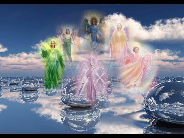Meditatie cu toti Arhanghelii de purificare si energizare
