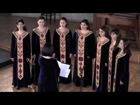 Ter Voghormea Mez - Mesrop Mashtots - Yervand Yerkanian - Geghard Monastery Choir