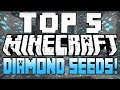 ★ Minecraft Seeds - TOP 5 MINECRAFT SEEDS! (Minecraft 1.8) (Best Minecraft Diamond Seeds) - 2015