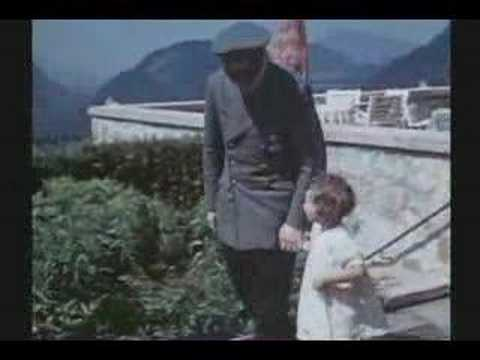 WW II : RARE COLOR FILM : HITLER-S LAIR