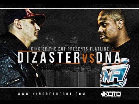 KOTD - Rap Battle - Dizaster vs DNA ( Co-Hosted by DRAKE )