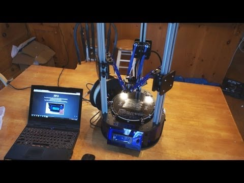 Orion Delta 3D Printer Review SeeMeCNC + Afina Comparison