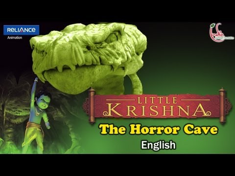 "01_0301 LITTLE KRISHNA EPISODE 03 ""THE HORROR CAVE"""