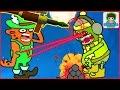 zombie catchers Ловцы зомби игра как мультик для детей от фаника 8