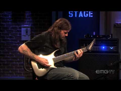 Christian Olde Wolbers, performs using the EMG 81-7X