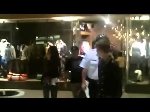 Justin Bieber Shopping With Selena Gomez - On His Birthday March 1, 2011