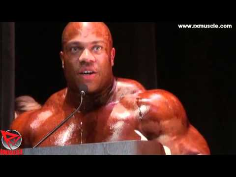 Mr Olympia Phil Heath Guest Posing at 2012 NPC Jay Cutler