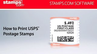 photograph relating to Printable Postage Stamps named - How towards Print USPS Postage Stamps - YouTube