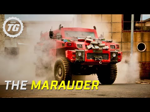 The Marauder - Ten Ton Military Vehicle - Top Gear - BBC