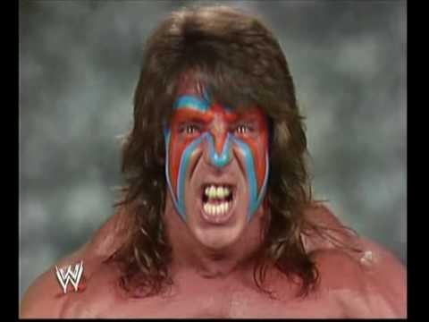 WWE-WWF Best Ultimate Warrior Promo Ever!