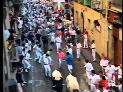 Encierro San Fermín   8 de julio de 1990 480p