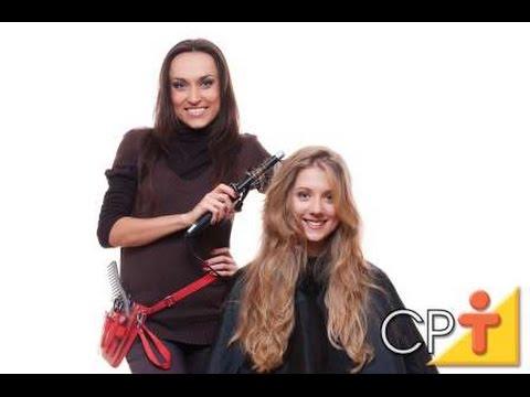Como Fazer Penteados - Como Fazer Cachos - Cursos CPT