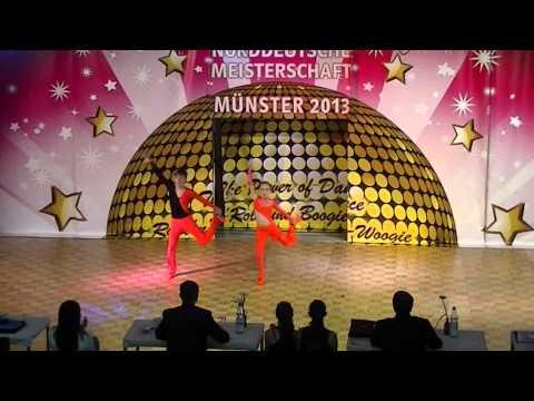 Rebekka Stahl & Daniel Langer - Norddeutsche Meisterschaft 2013