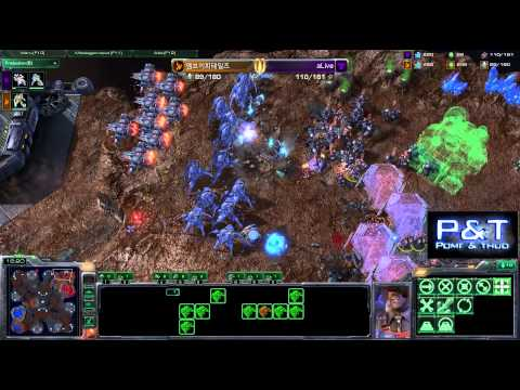 (HD376) Tails vs aLive - PvT - Starcraft 2 Replay [FR]