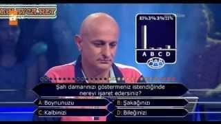 Kim Milyoner Olmak Ister 239. bölüm Rahim Şan 18.06.2013