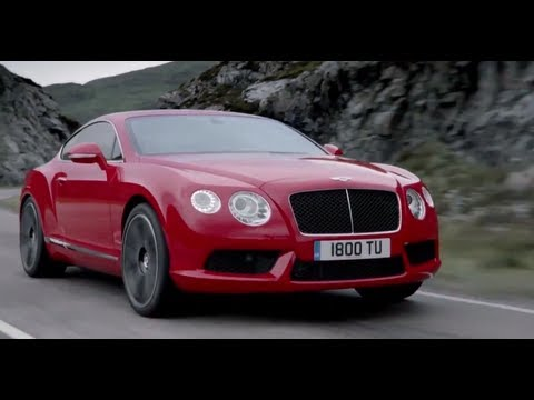 Bentley Continental GT V8 2013 Snow Driving Commercial Carjam TV HD Car TV Show