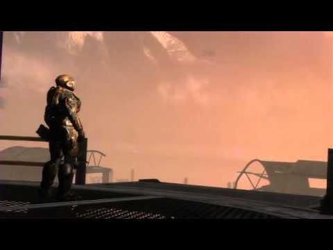 Halo Reach Lone Wolf Cutscene