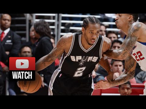 Kawhi Leonard Full Highlights at Clippers (2014.11.10) - 26 Pts, 10 Reb, Clutch Defense!