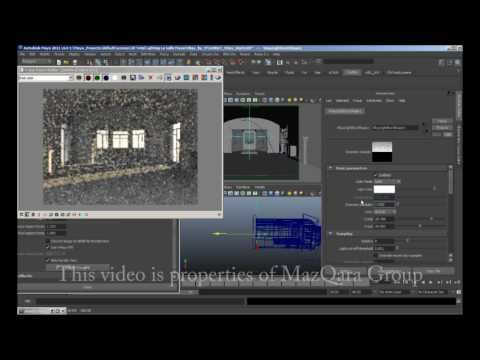 Proof concept of lighting method conversion of VRay for Maya (from 3DS MAX method) by M@MazQara
